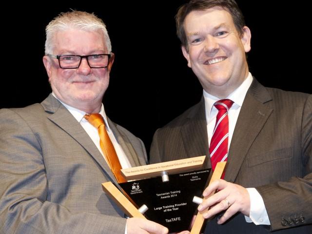 TasTAFE named Large Training Provider of the Year
