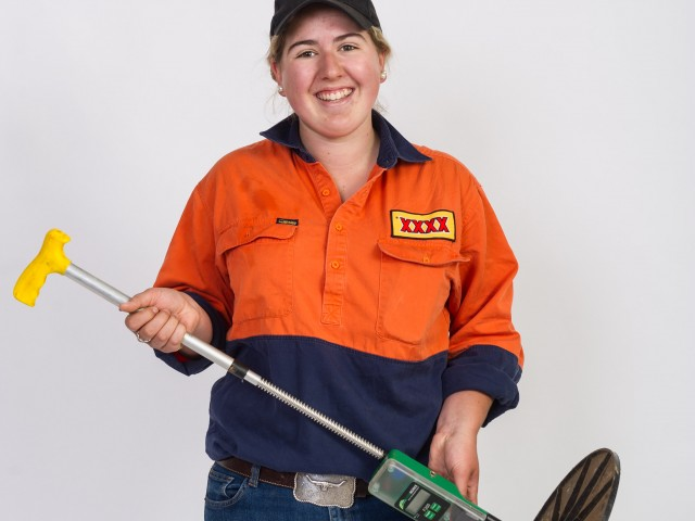 Agriculture – Josie follows her passion for agriculture