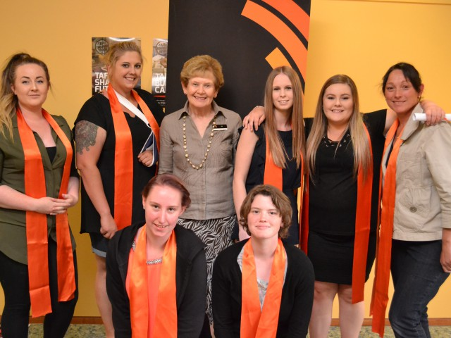 Hard work of Community and Children's Services students celebrated