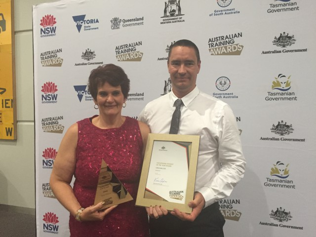 Australian Training Award winner finds her passion in the Disability sector