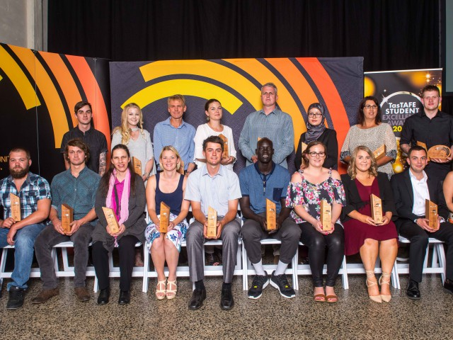 Awards celebrate the achievements of TasTAFE students